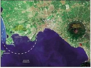 義大利超級火山 這座擁有強大殺傷力的超級火山坎皮佛萊格瑞(Campi Flegrei caldera)