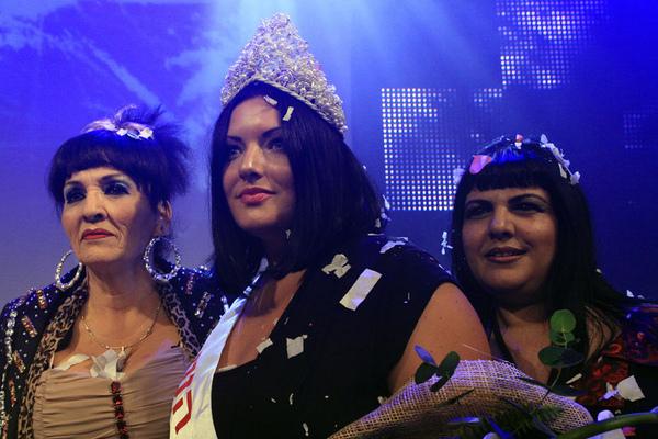以色列 大號美女 參賽佳麗們體重沒有超過80公斤,還不能參加呢!