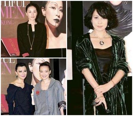 ↑王菲、李美鳳、舒淇、劉嘉玲皆出席香港最美20人攝影展。(圖/翻攝自網路)