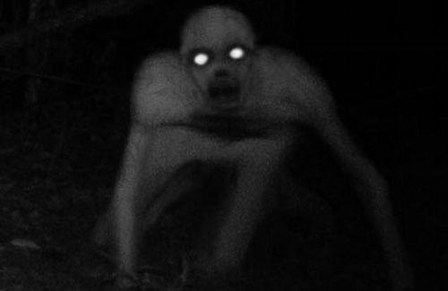 無毛殭屍 男子在森林打獵時,居然看到疑似人形的殭屍在移動