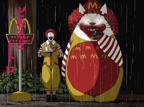 龍貓麥當勞版。