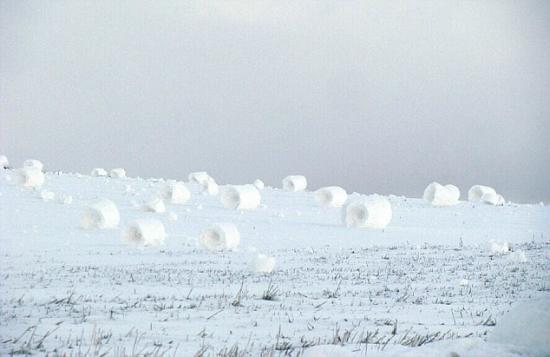 雪卷奇景 一生都無緣得見