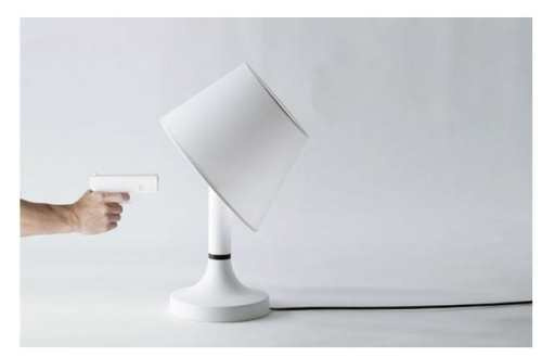 BANG 檯燈 裝死 日本設計公司bitplay設計了一款名叫「BANG!」的檯燈
