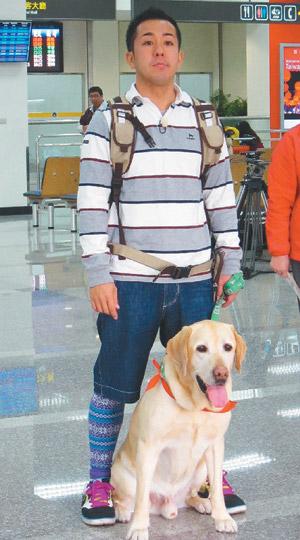 狗明星大介 相親 日本「寵物當家」二度來台出外景,松本要為大介找台灣媳婦。