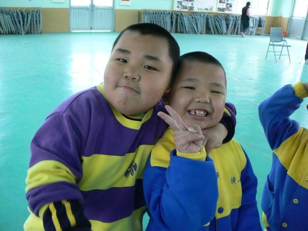 讀國小的哥哥和幼稚園的弟弟,一起參加活動.JPG