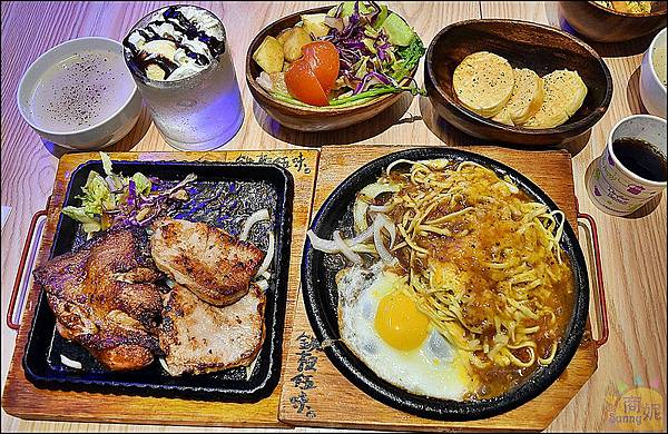 台中美食-鐵板伍味