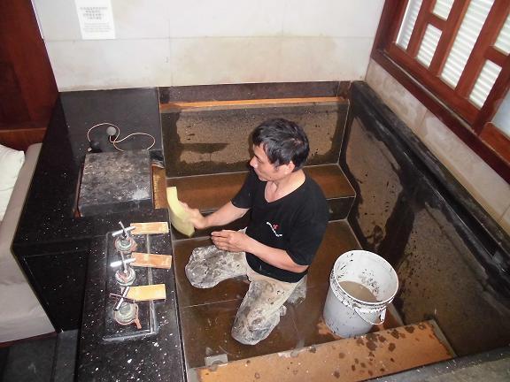 浴缸防水施工