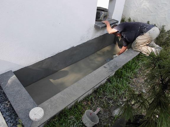戶外水池地坪防水