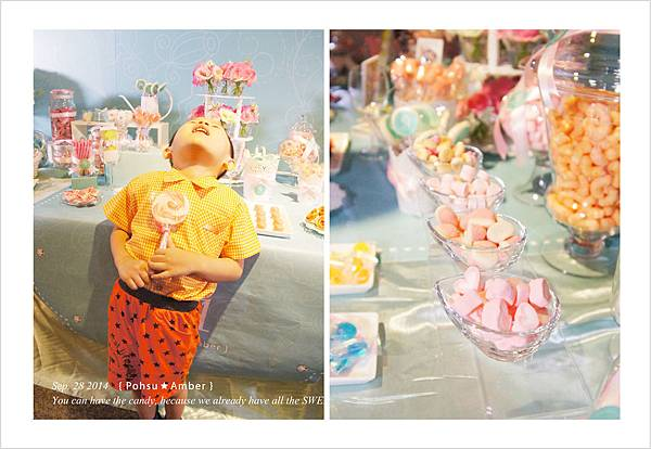 高雄國賓 婚禮佈置candybar