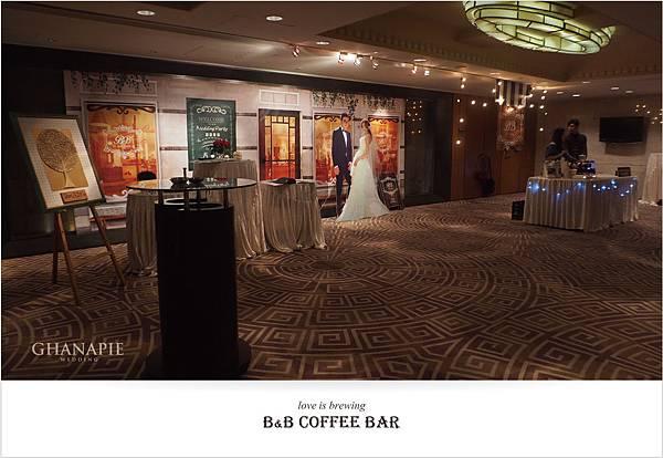 台南香格里拉飯店 咖啡館婚禮佈置01