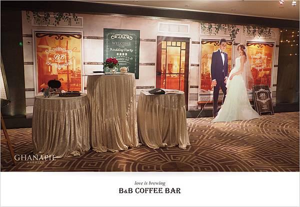 台南香格里拉飯店 咖啡館婚禮佈置02