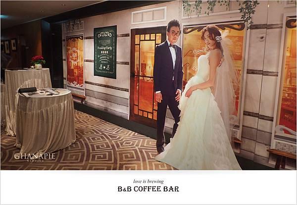 台南香格里拉飯店 咖啡館婚禮佈置06