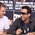 Boys attends a autograph session on September 6, 2009 in Berlin, Germany.