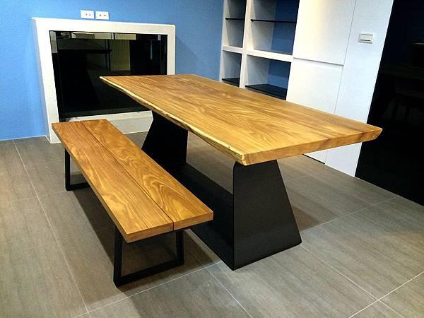 桃園蕭設計師訂製非洲柚木桌椅