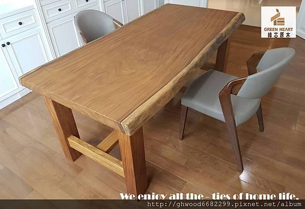 非洲柚木書桌