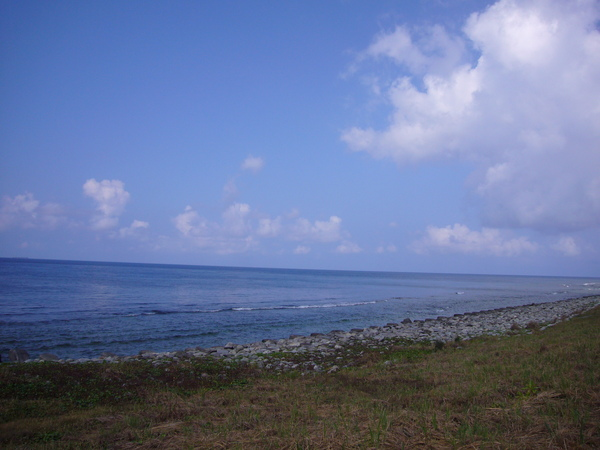 藍天和大海