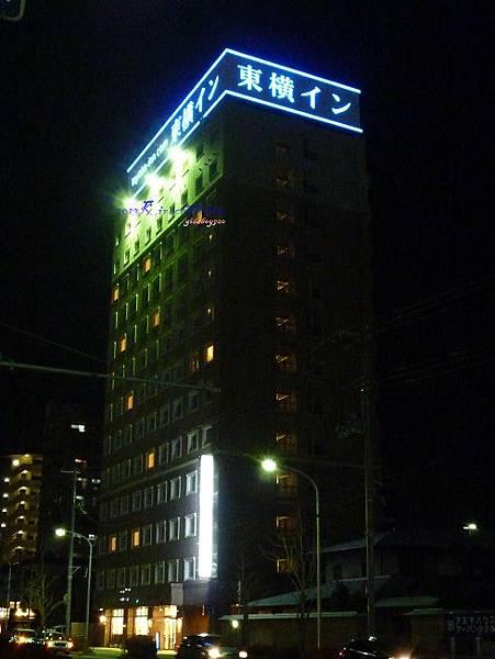 東橫INN夜景