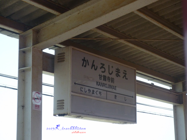 貴志川線甘露寺前駅
