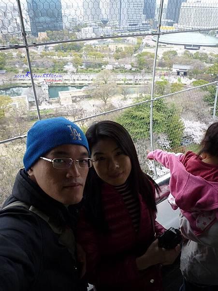 大阪城天守閣頂樓