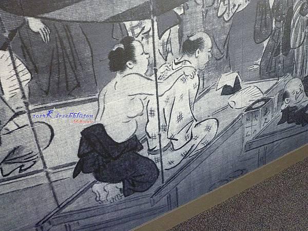大阪生活今昔館壁畫