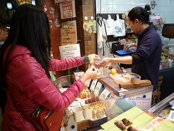 錦市場買干貝