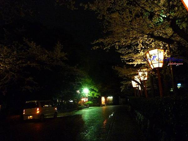 通往円山公園的路上