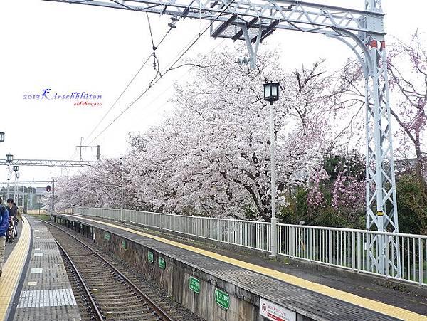 阪急電鐵嵐山駅