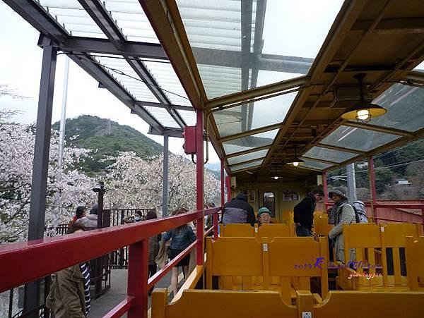 トロッコ小火車第5車廂內
