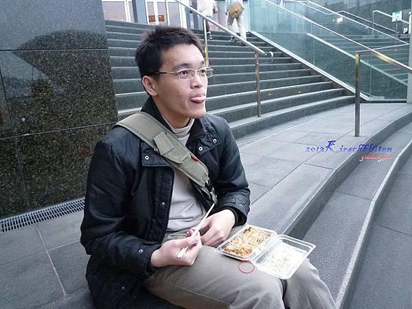 JR京都駅吃章魚燒