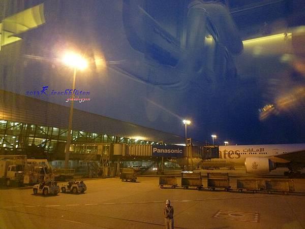 傍晚的関西空港