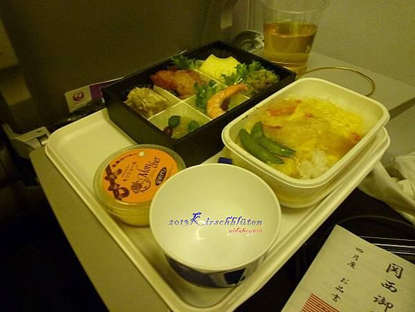 JL的飛機餐