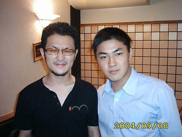 2004,我跟阿拓在咖啡聚