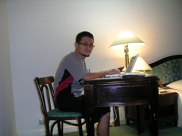 寫小說,到哪裡都一樣