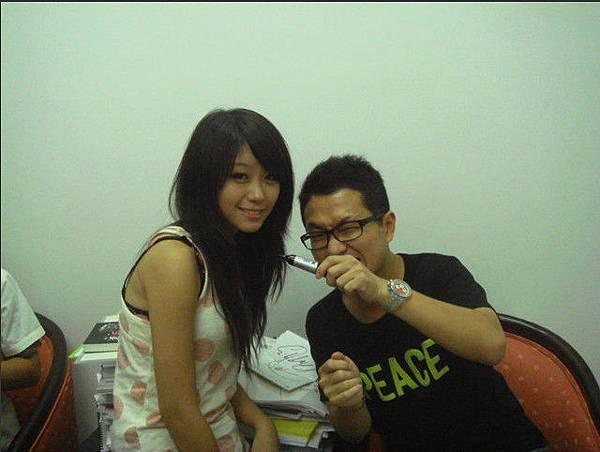 竹北高中場演講中,超猛的正妹