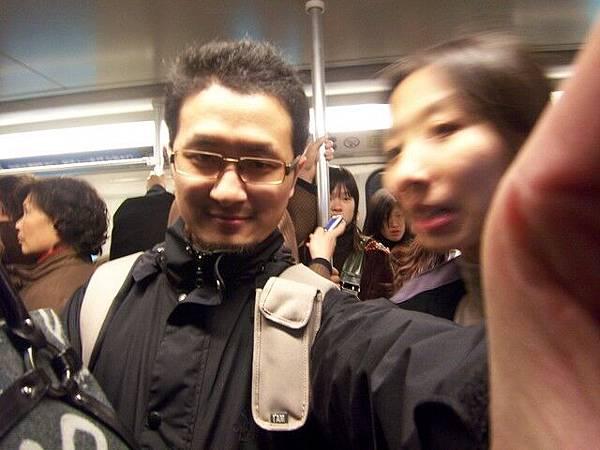 地鐵超級擠
