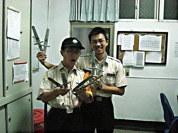 奪刀術用的刀.......