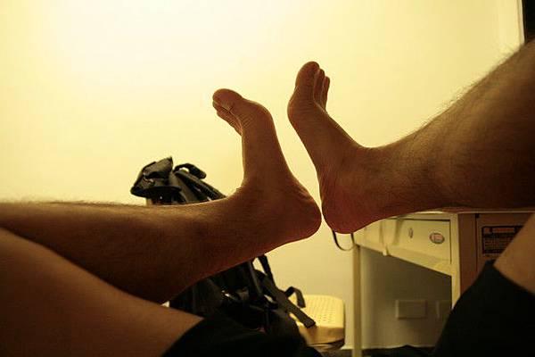 我的腳謝謝