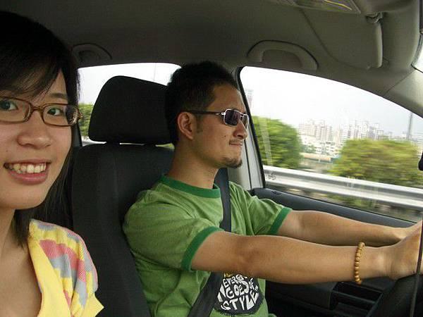 開車時最喜歡妳在旁邊