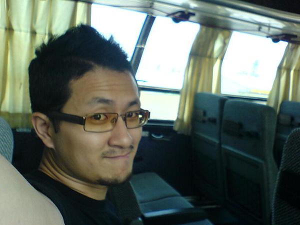 公車上只有我一個人