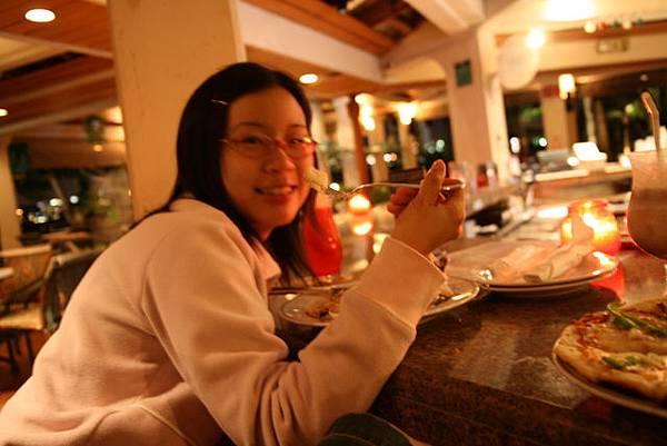 在treebar吃晚餐