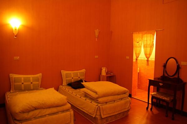 黃家溫泉裡最便宜的房間
