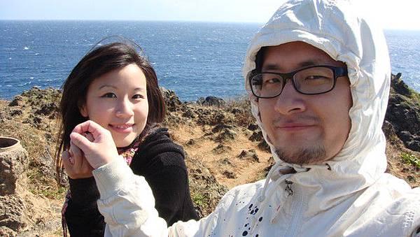 墾丁海邊,風很囂張的大