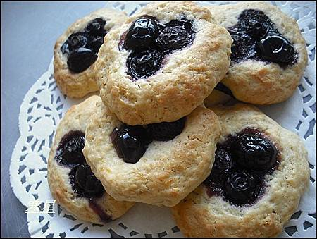 藍莓蛋糕餅