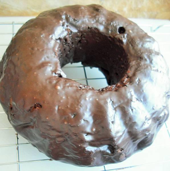 豆漿巧克力蛋糕