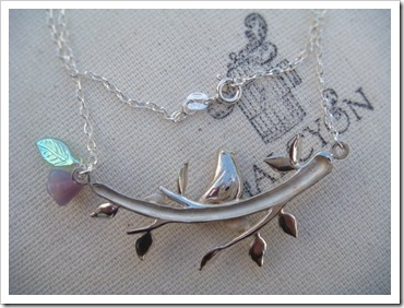 Dove on Branch Necklace-07