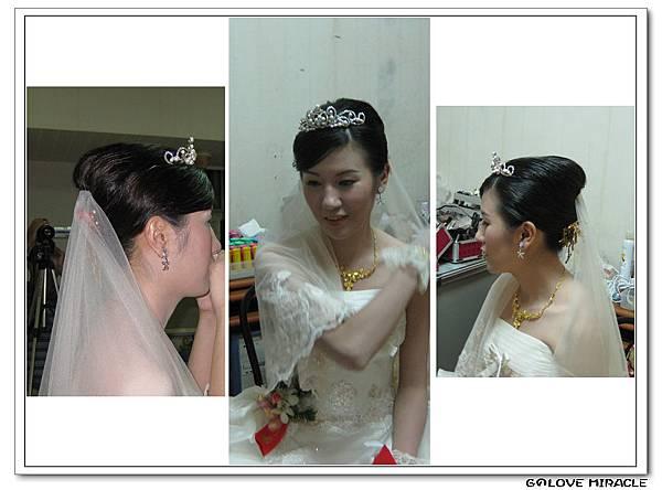 芳梅-梅子-G的第一個新娘包頭,很活潑、大方的芳梅