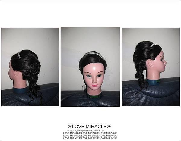 造型6-換個髮飾,不同的感覺!
