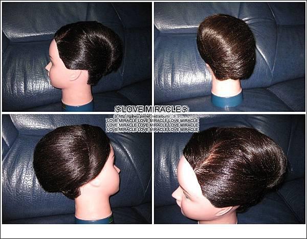 造型5-都會時尚的改變款,在學院學的都會時尚造型是運用假髮,GG用小G頭自己的真髮做的都會時尚造型