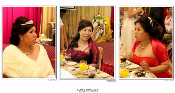 純的三個造型,進場-氣質貴婦白紗造型:敬酒-浪漫捲髮造型:送客-時尚俏麗短捲髮造型