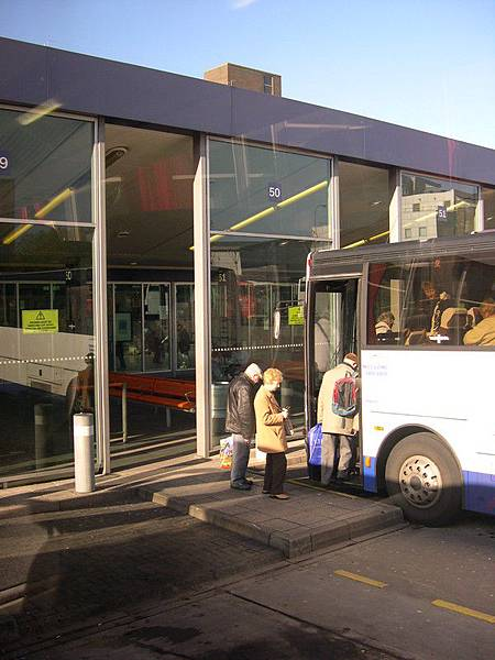 Bus station of Glasgow